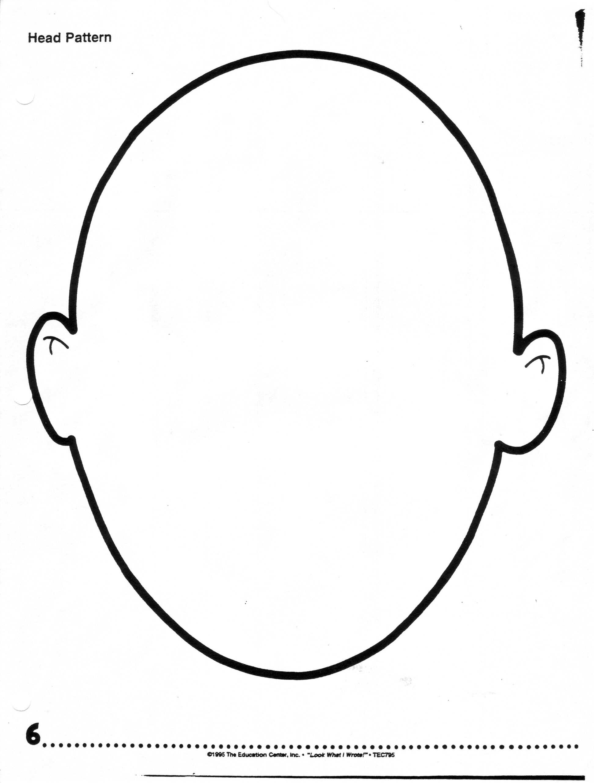 Free Blank Face Template, Download Free Clip Art, Free Clip Regarding Blank Face Template Preschool