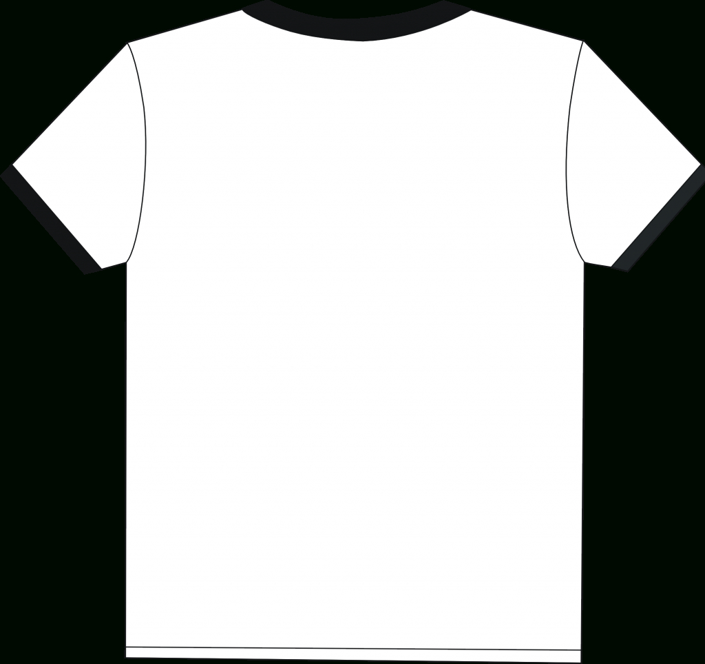 Free Blank T Shirt Outline, Download Free Clip Art, Free With Regard To Blank Tshirt Template Printable