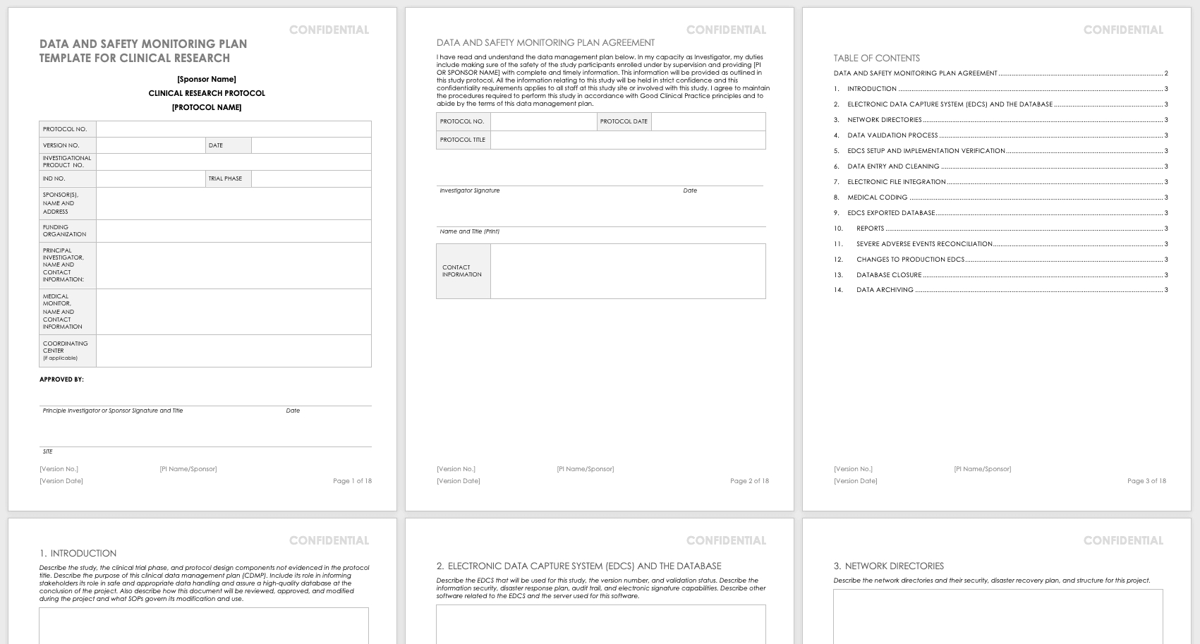 Free Clinical Trial Templates | Smartsheet Pertaining To Monitoring Report Template Clinical Trials