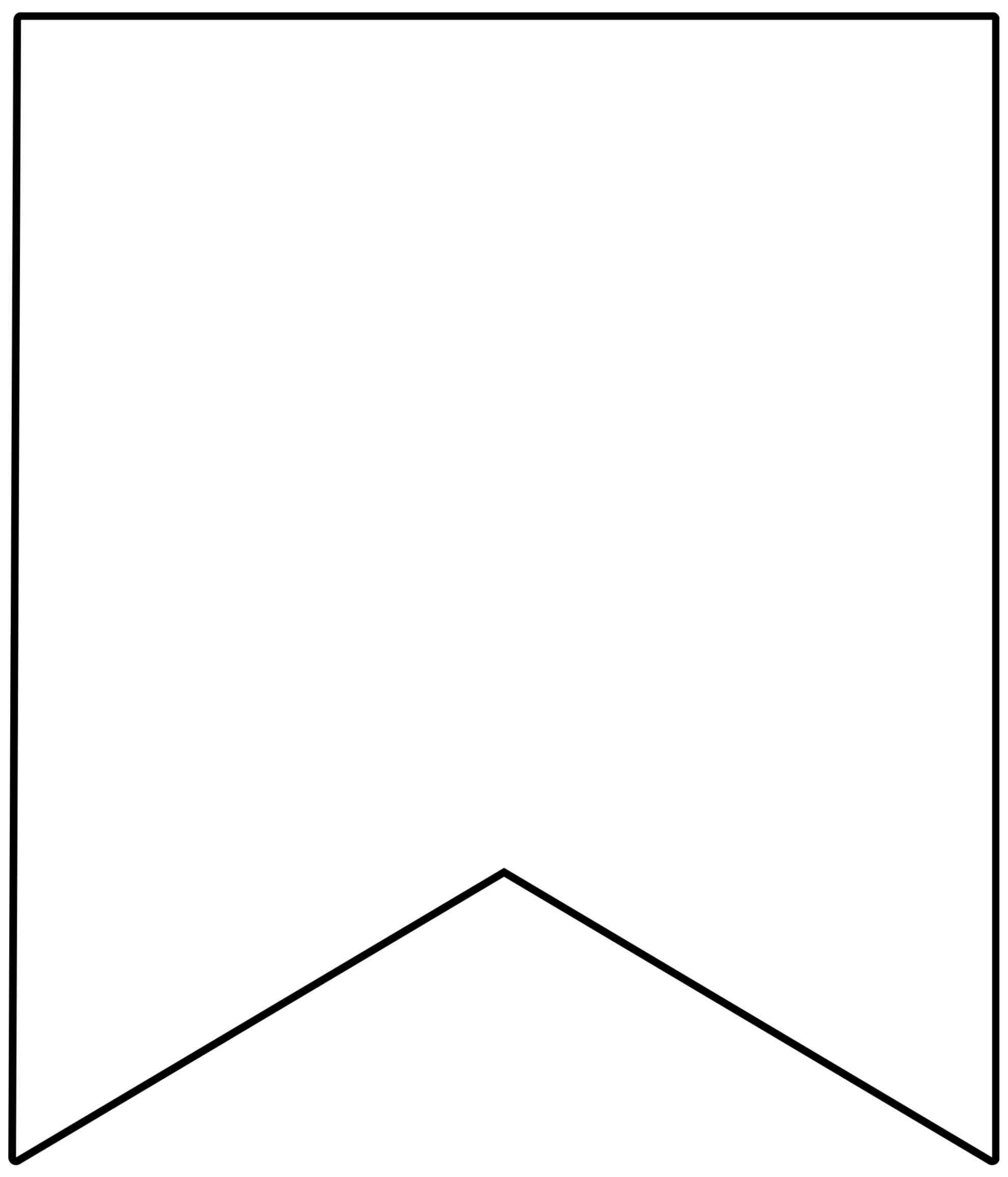 Free Printable Banner Templates {Blank Banners} - Paper With Regard To Free Printable Banner Templates For Word