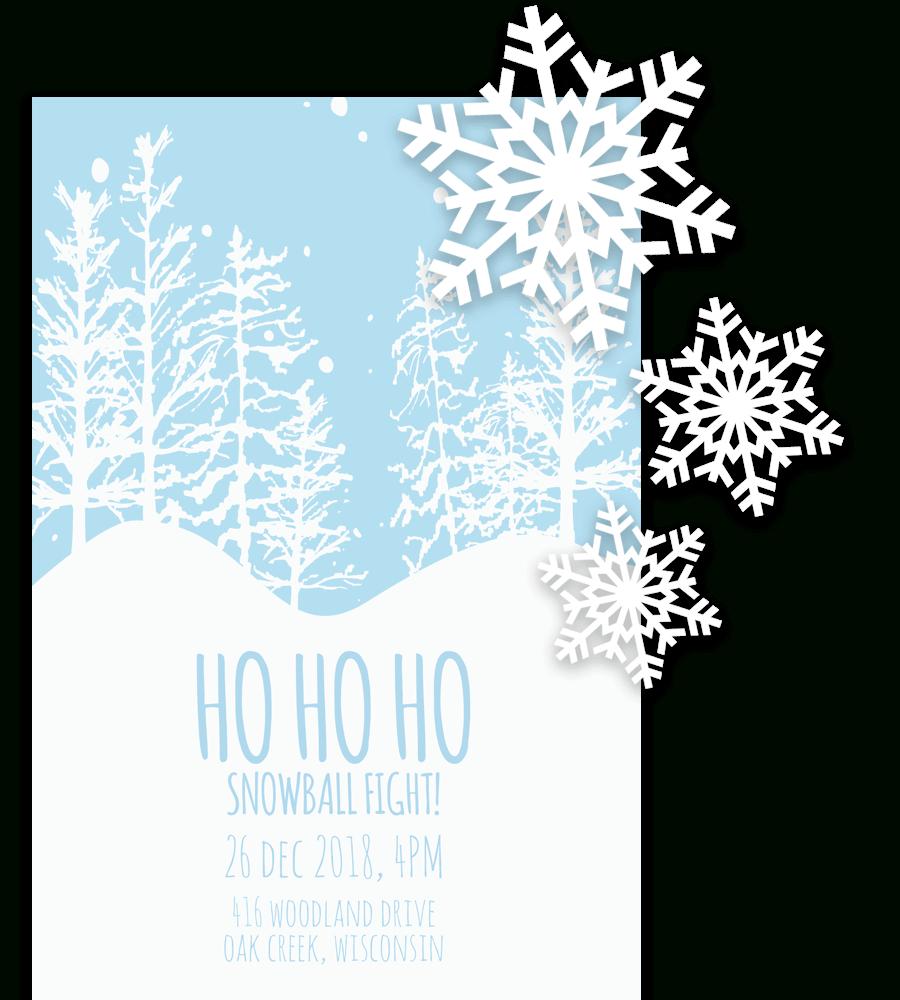Free Printable Christmas Invitation Templates In Word! Throughout Free Christmas Invitation Templates For Word