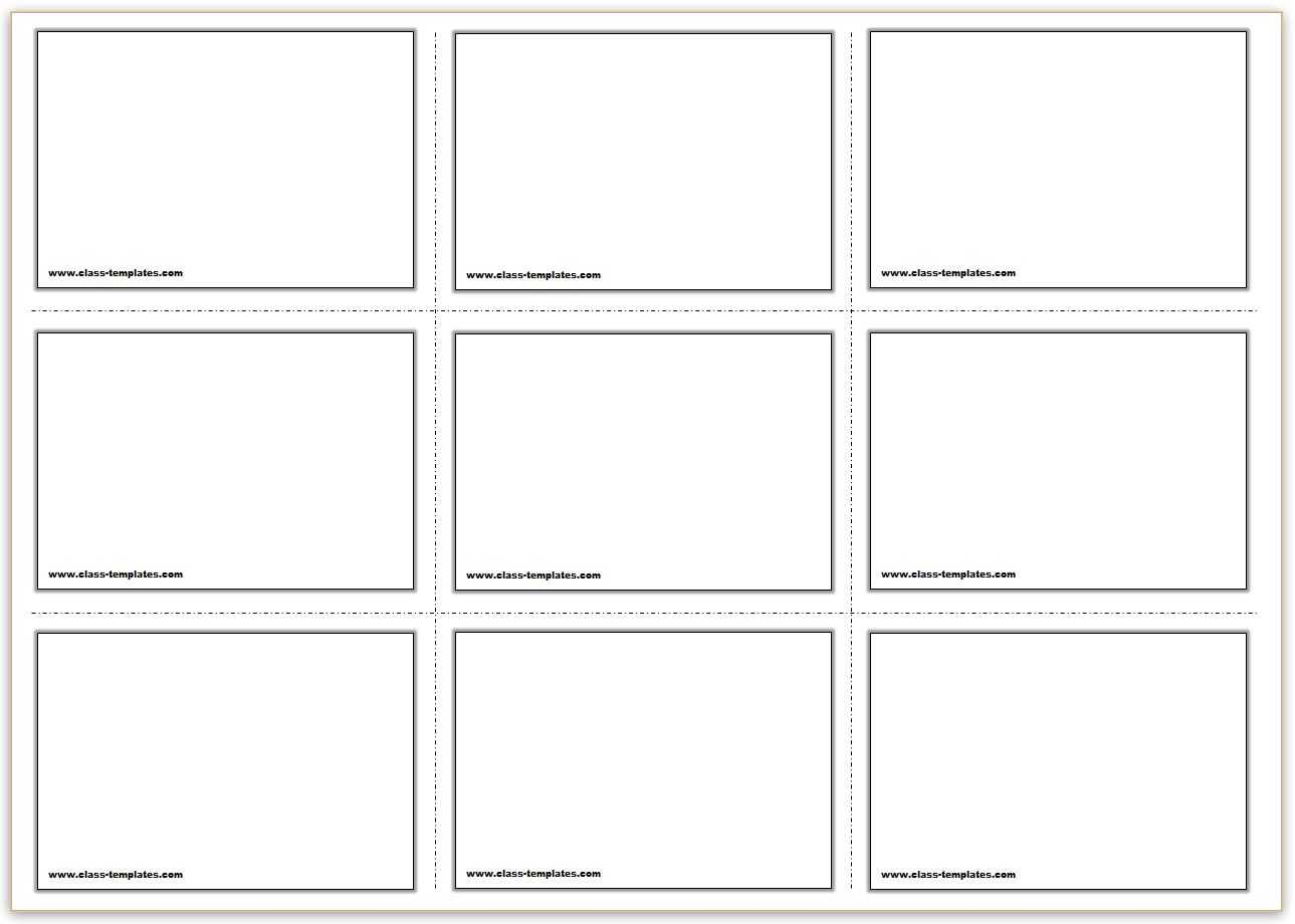 Free Printable Flash Cards Template Within Free Printable Blank Flash Cards Template