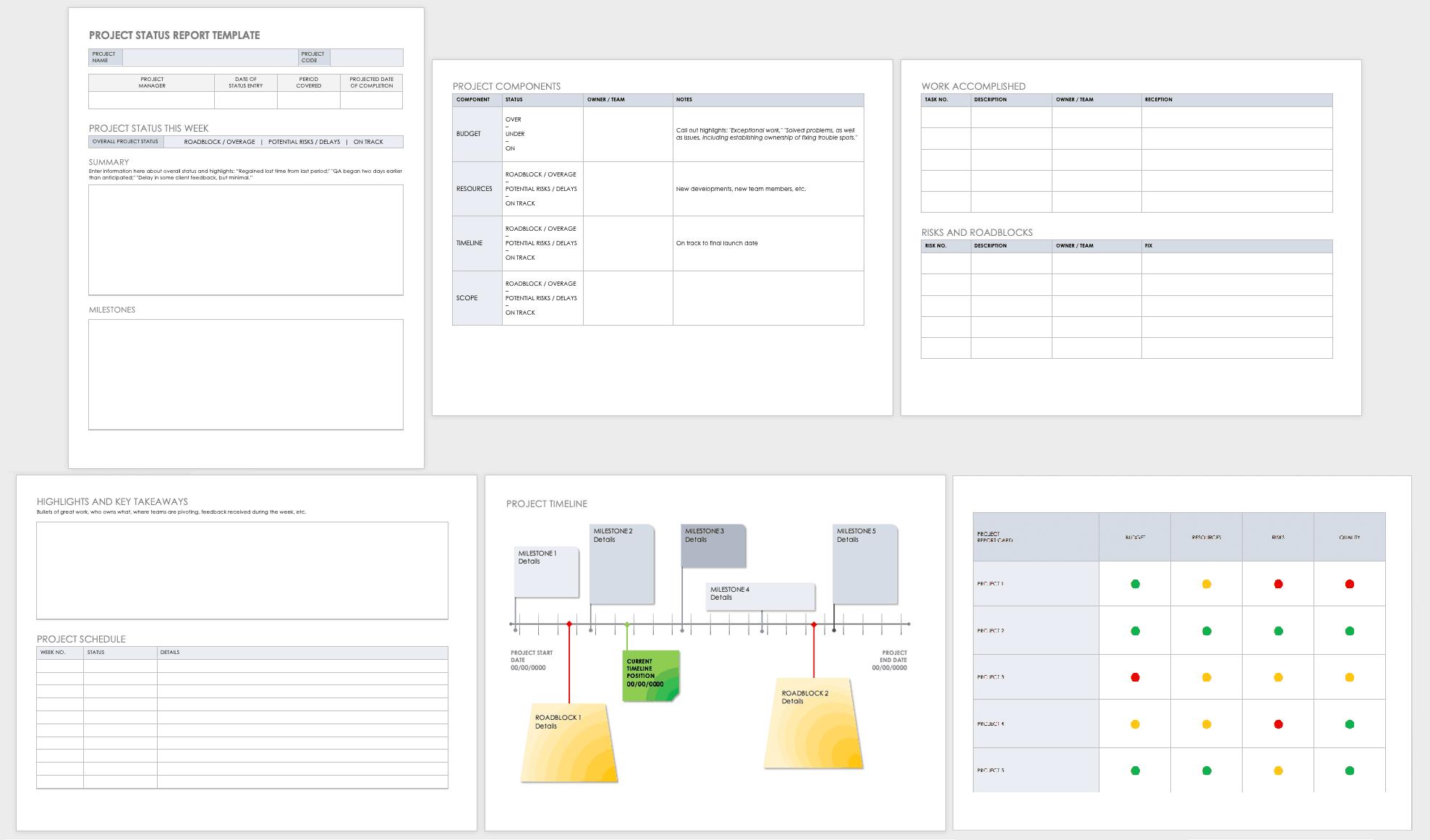 Free Project Report Templates | Smartsheet Pertaining To Ms Word Templates For Project Report