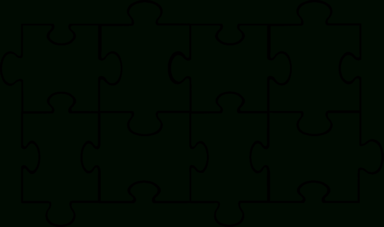 Free Puzzle Pieces Template, Download Free Clip Art, Free Inside Blank Jigsaw Piece Template