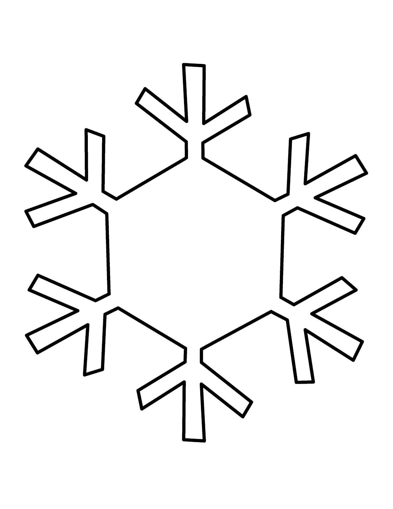 Free Snowflake Line Art, Download Free Clip Art, Free Clip With Blank Snowflake Template