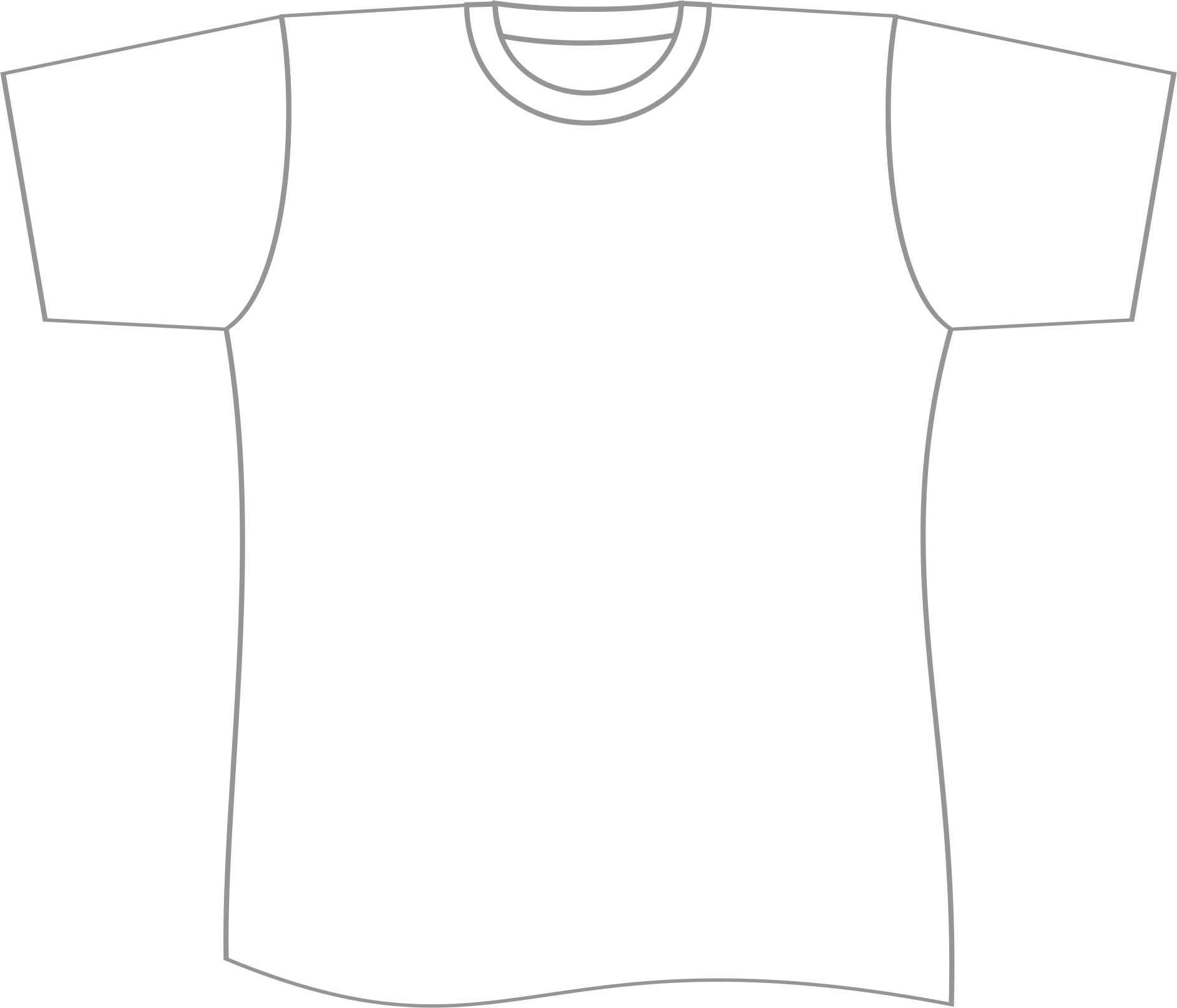 Free T Shirt Template Printable, Download Free Clip Art With Regard To Blank Tshirt Template Printable