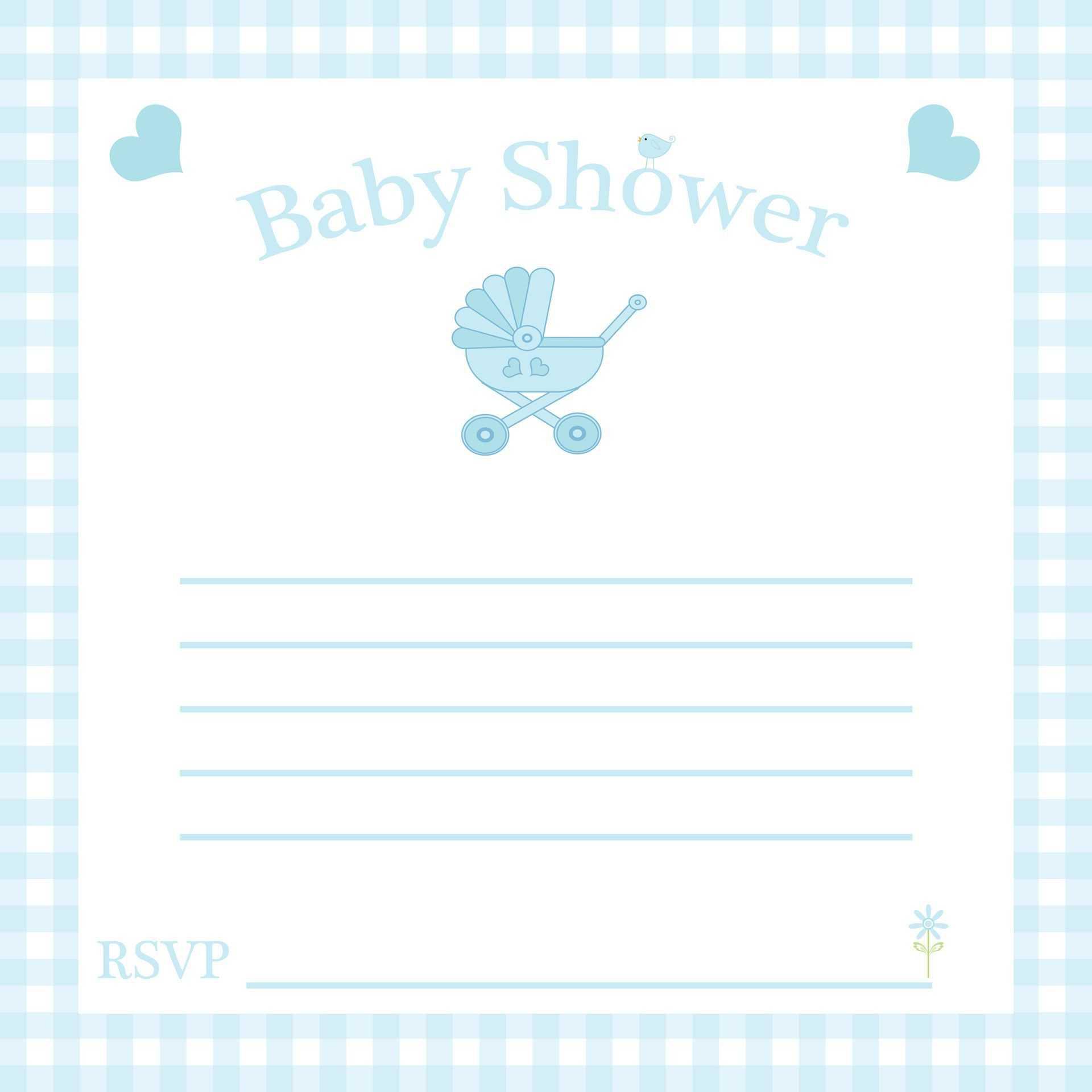 Graduation Party : Free Baby Invitation Template - Card Within Free Baby Shower Invitation Templates Microsoft Word