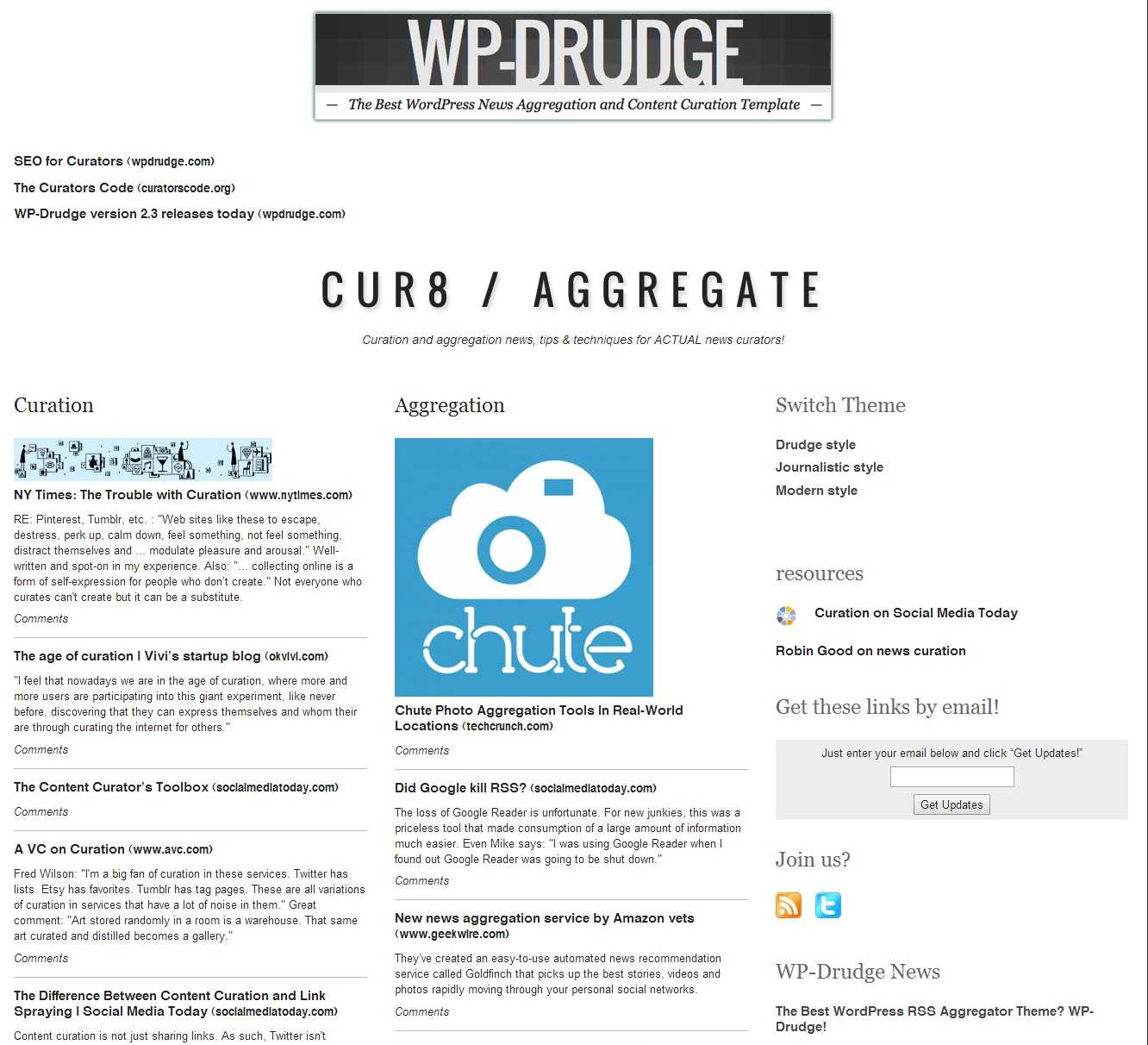 How To Create A Drudge Report Clone Using Wp Drudge - Wp Mayor Throughout Drudge Report Template