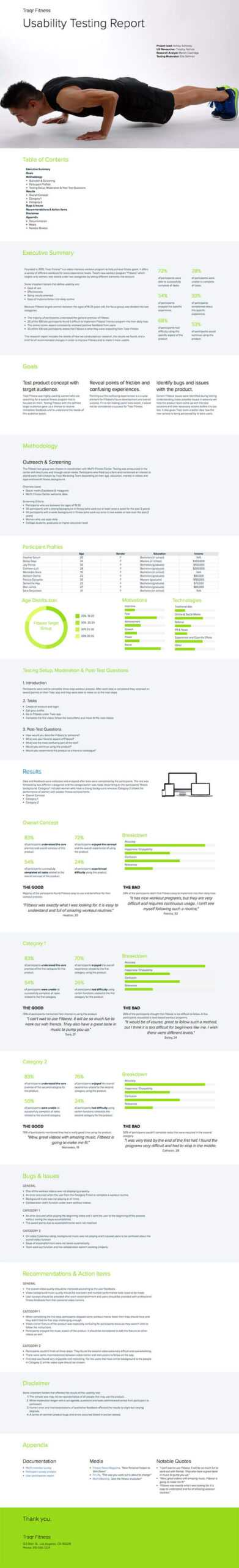 How To Write A Usability Testing Report (With Samples)   Xtensio Pertaining To Usability Test Report Template
