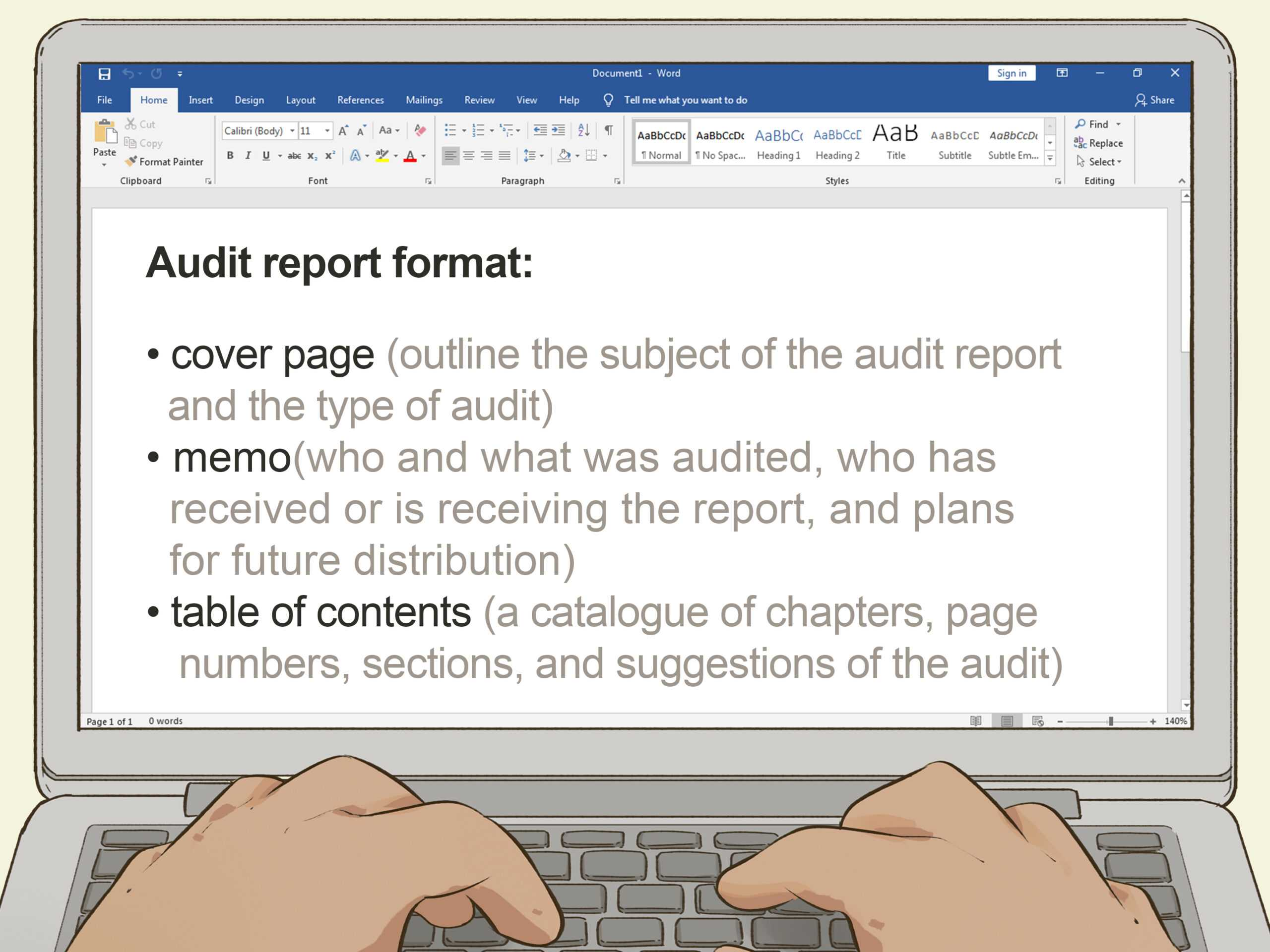 How To Write An Audit Report: 14 Steps (With Pictures) – Wikihow In Information System Audit Report Template