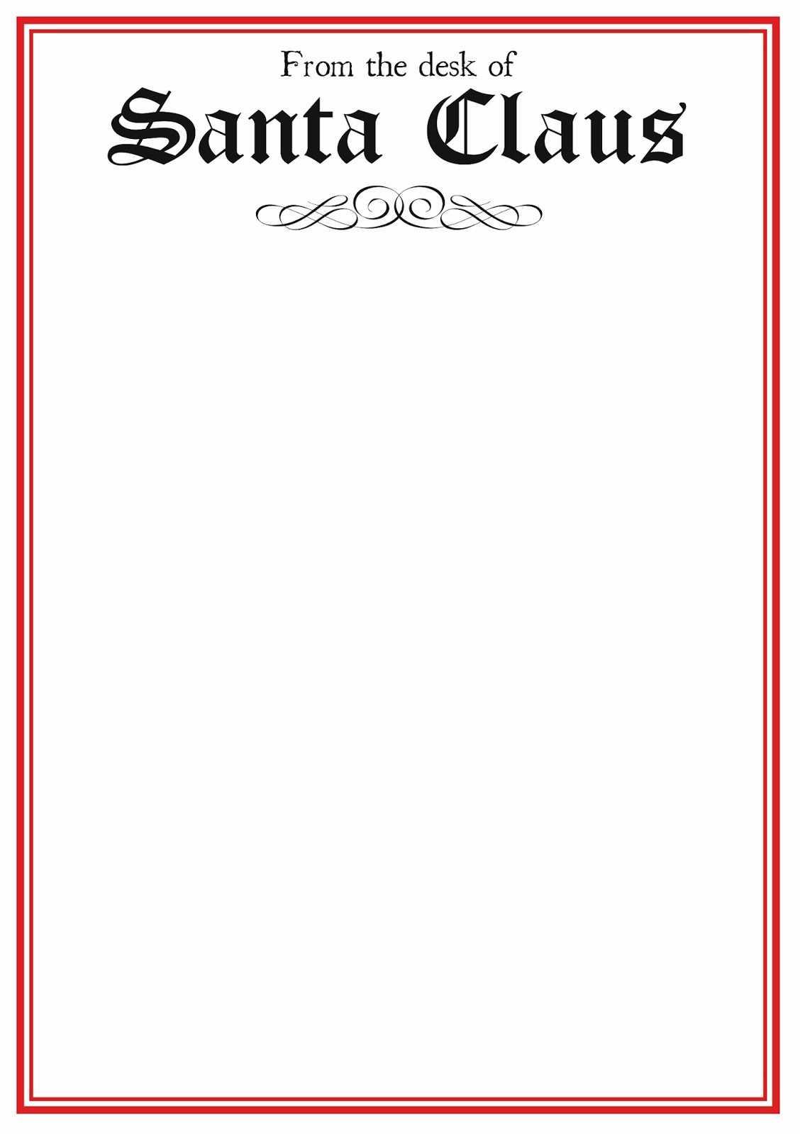 Letter To Santa Template Word – Raptor.redmini.co Inside Santa Letter Template Word