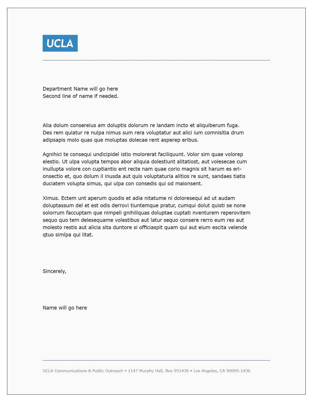 Letterhead Template Word – Fotolip Pertaining To Headed Letter Template Word