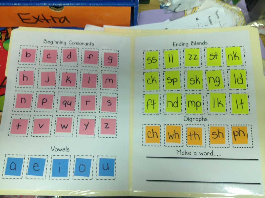 Lively Learners Blog – Learning Laboratory! Regarding Making Words Template