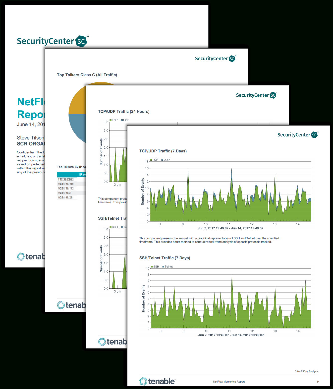 Netflow Monitor Report – Sc Report Template   Tenable® With Network Analysis Report Template