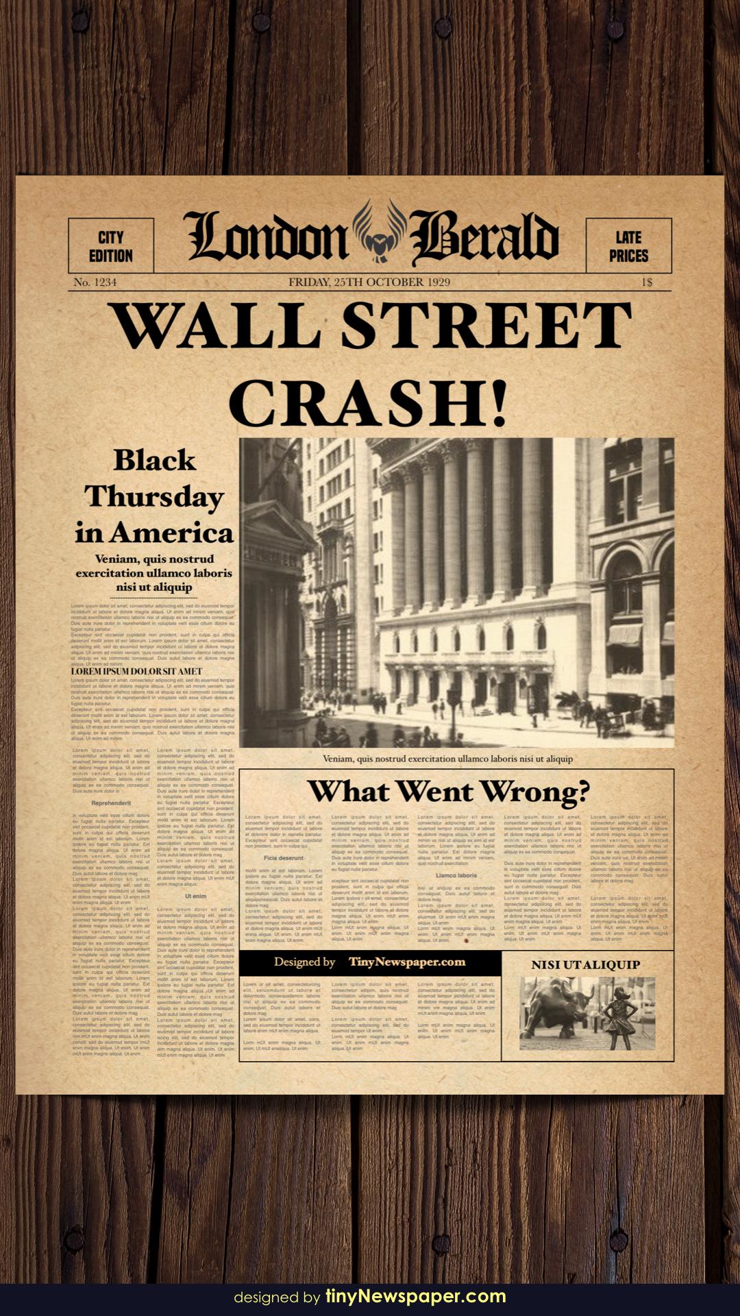 Old Newspaper Template Word Inside Old Newspaper Template Word Free