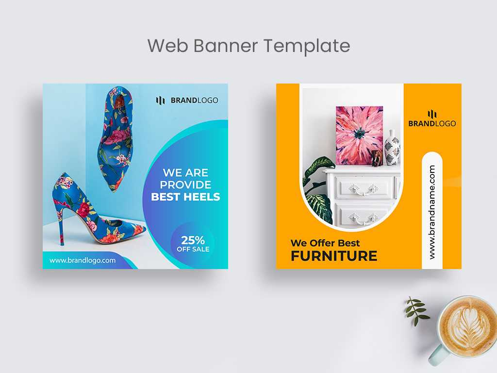 Product Sale Web Banner Template   Social Media Post On Behance Intended For Product Banner Template