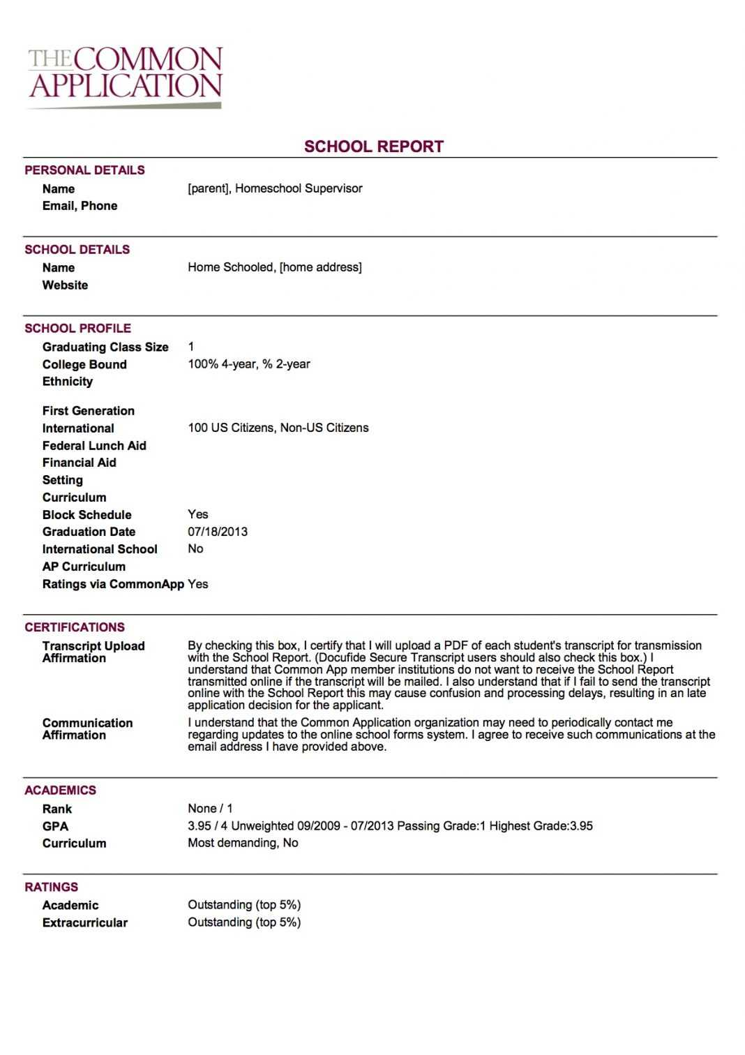 Report Card Template College Examples Fake Download Sample In Fake Report Card Template