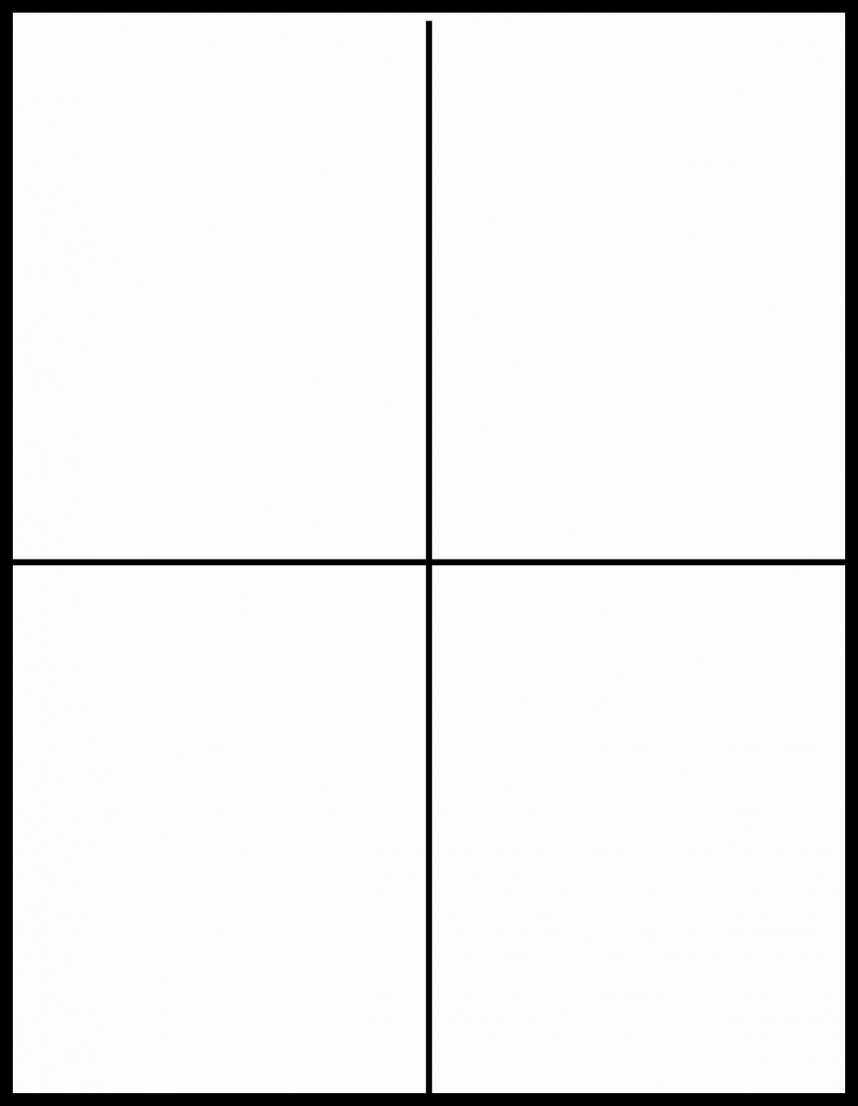 Stunning Free Printable Quarter Fold Card Template Ideas In Free Printable Blank Greeting Card Templates