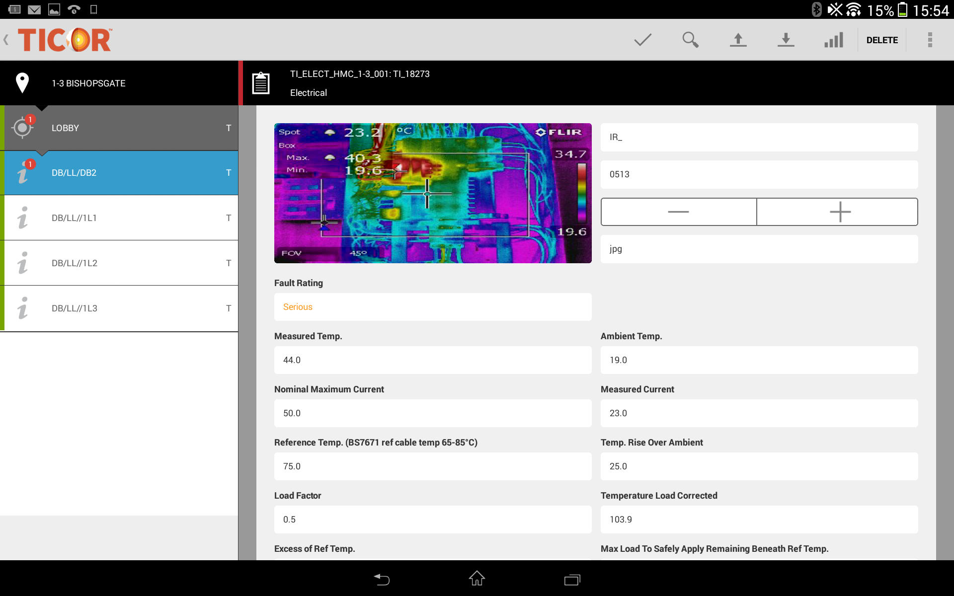 Thermal Imaging Software - Ticor Intended For Thermal Imaging Report Template