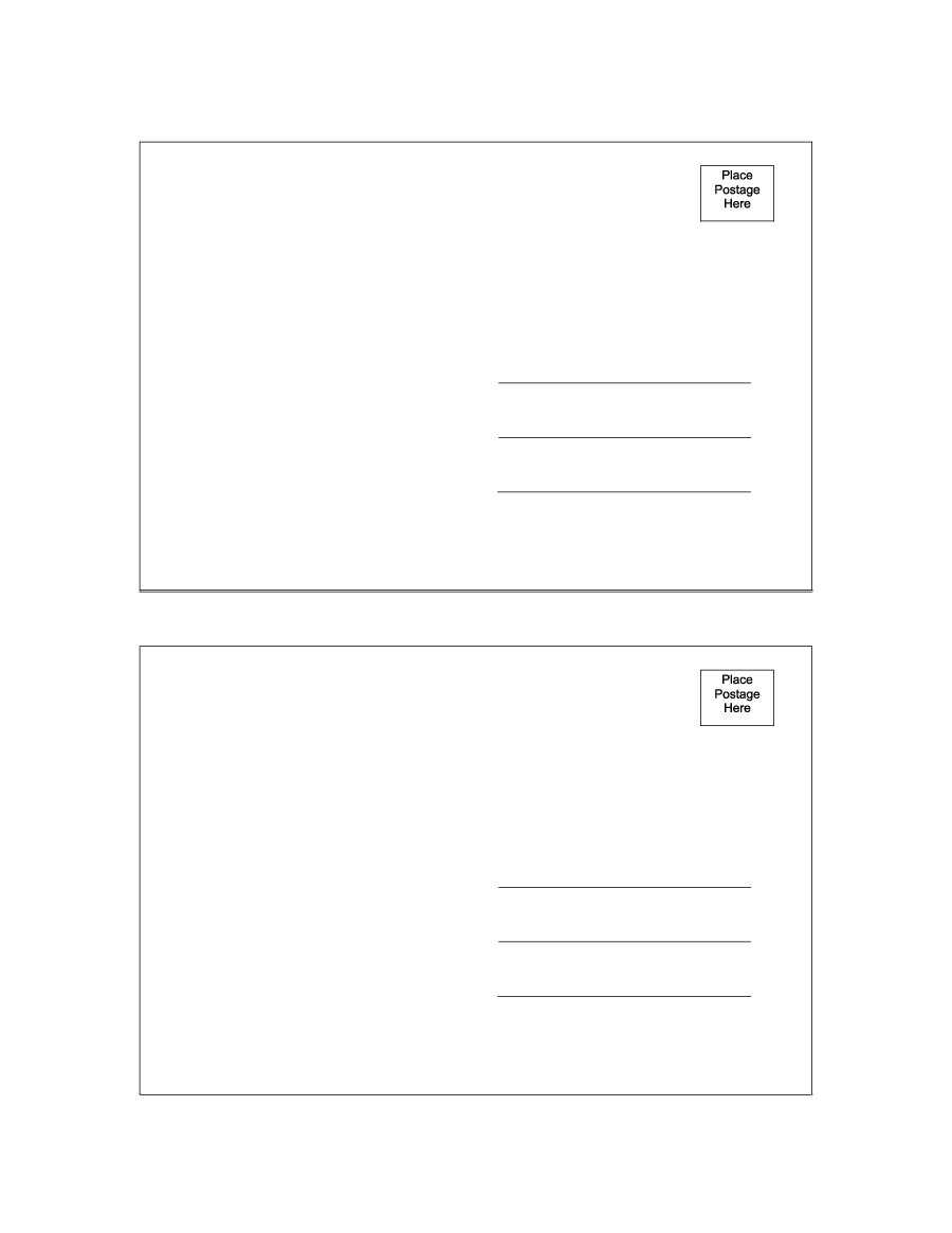 Word Postcard Templates - Horizonconsulting.co In Free Blank Postcard Template For Word