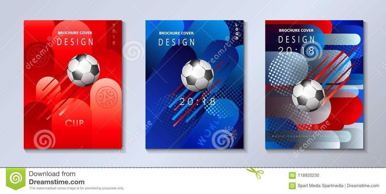 World Cup 2020 Euro Soccer Competition Football Abstract For Soccer Report Card Template
